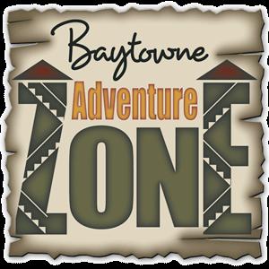 baytowne adventure zone logo
